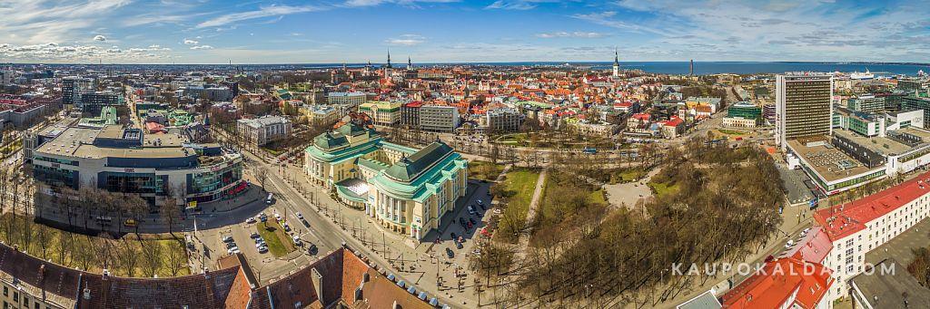 Solarise keskus, Rahvusooper Estonia, Tammsaare park, Viru hotell